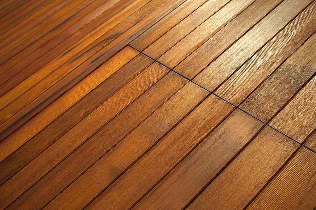 Wood Decking  - hardwood vs softwood