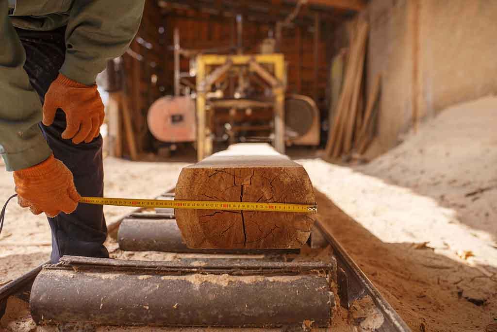 Wood measuring