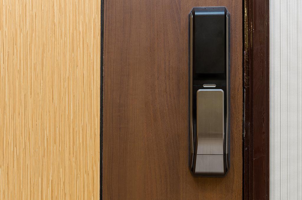 wooden office door